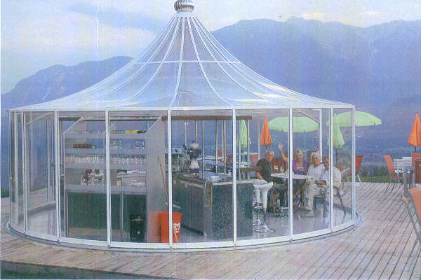 glass gazebos elite 7.22 pergola roof 1
