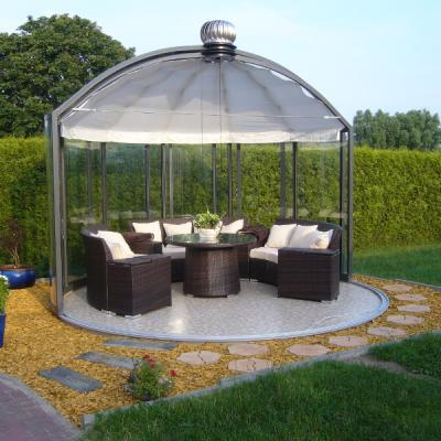 Glass Gazebos Elite 3.94 Domed Roof 14