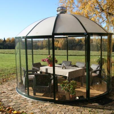 Glass Gazebos Elite 3.94 Domed Roof 5