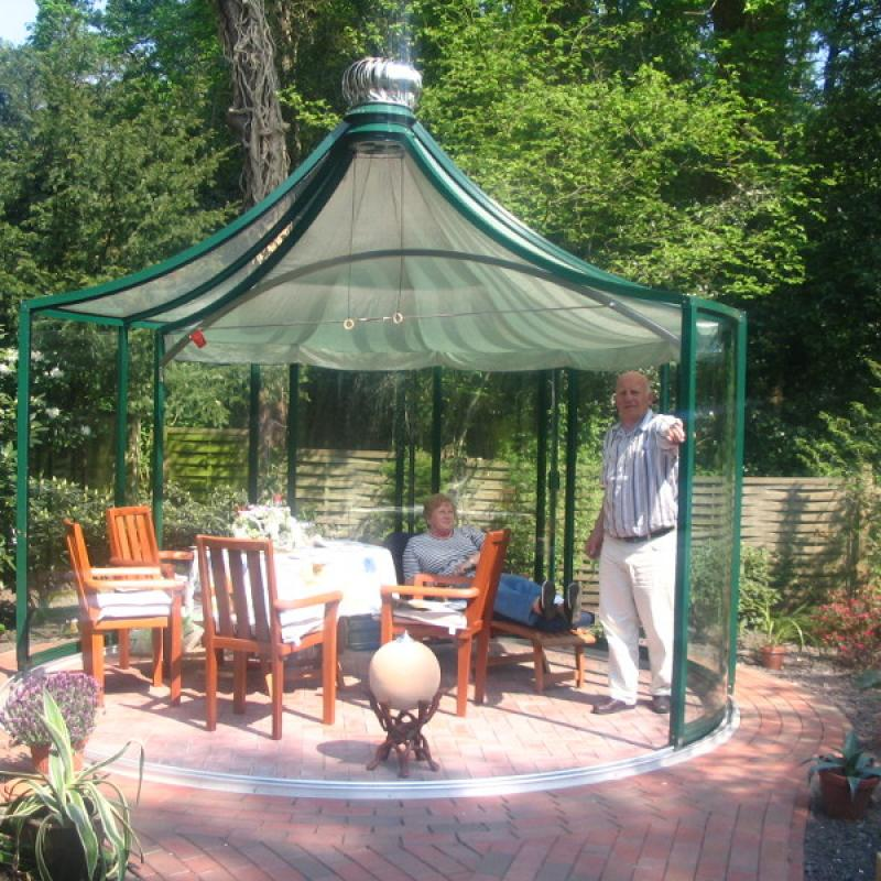 Glass Gazebos Elite 3.94 Pergola Roof 28