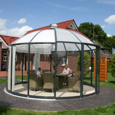 Glass Gazebos Elite 4.62 Domed Roof 4