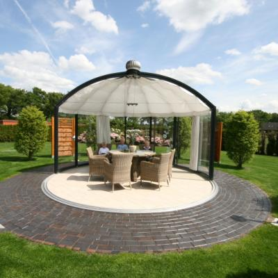 Glass Gazebos Elite 4.62 Domed Roof 8