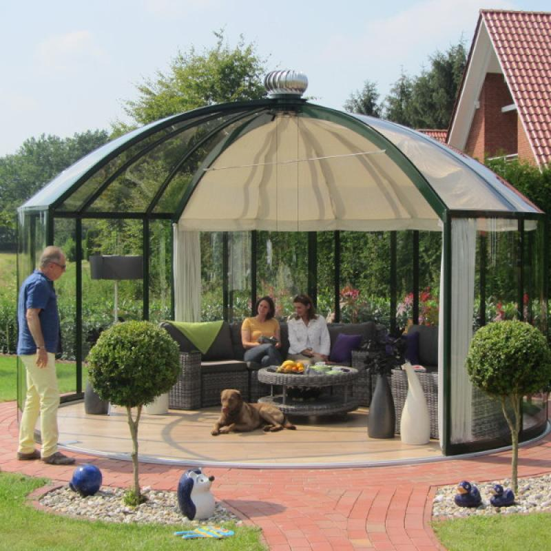Glass Gazebos Elite 5.28 Domed Roof 2