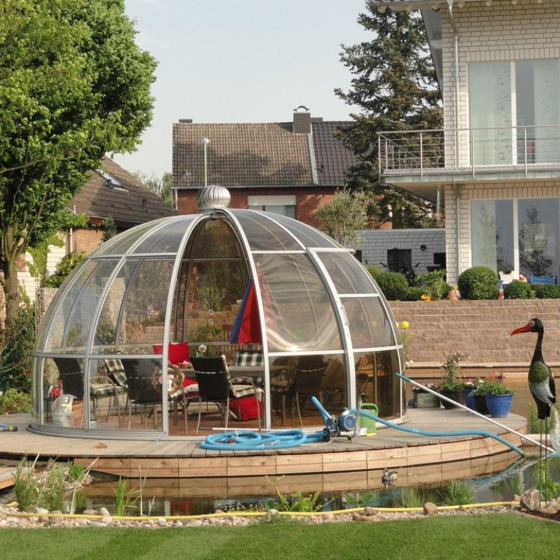 Glass Gazebos Dome 4.62 1