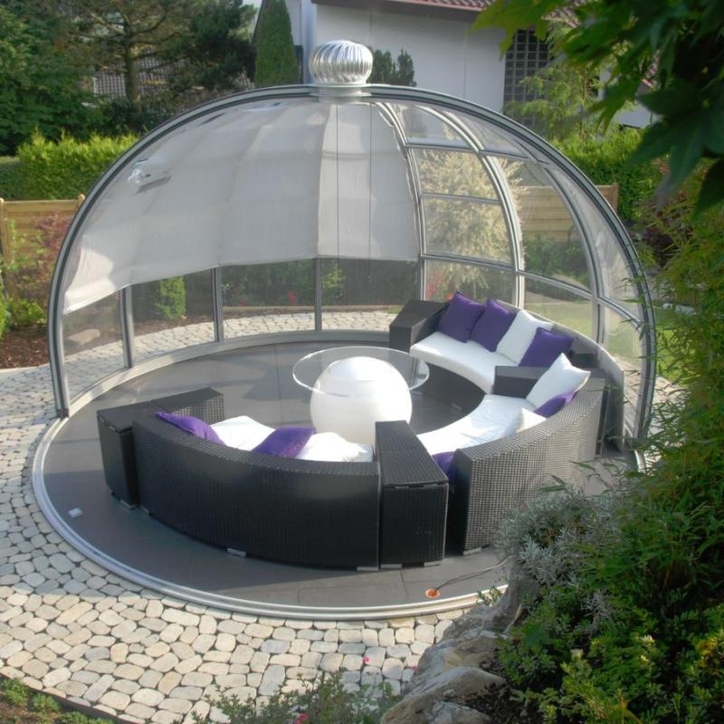 Glass Gazebos Dome 4.62 4